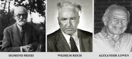 Sigmund Freud - Wilhem Reich - Alexander Lowen